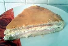 Pizza dolce di ricotta