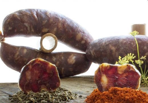 Salsiccia a catena di Cancellara